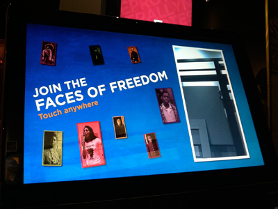 Chicago History Museum Faces of Freedom Exhibit